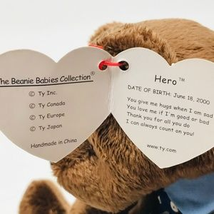 110c337b559 Ty Beanie Babies Other - TY BEANIE BABIES and MARCH OF DIMES Hero and Dawn